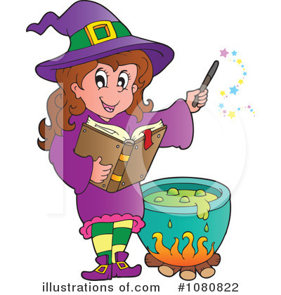 Witch Clipart #1080822 by visekart