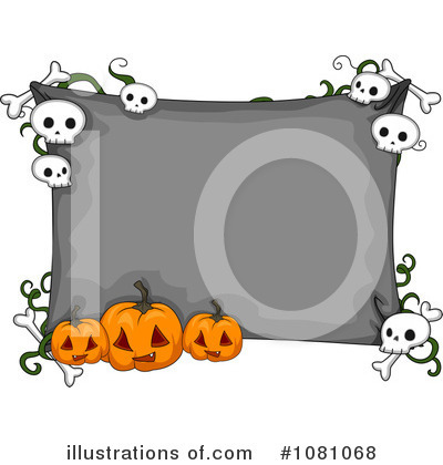 Royalty-Free (RF) Halloween Clipart Illustration by BNP Design Studio - Stock Sample #1081068