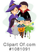 Royalty-Free (RF) Halloween Clipart Illustration #1081091