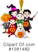 Royalty-Free (RF) Halloween Clipart Illustration #1081482