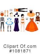Royalty-Free (RF) Halloween Clipart Illustration #1081871