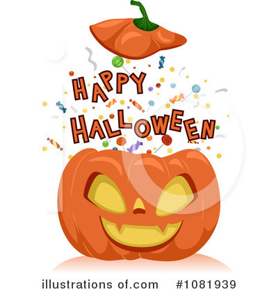 Happy Halloween Clipart #1081939 by BNP Design Studio
