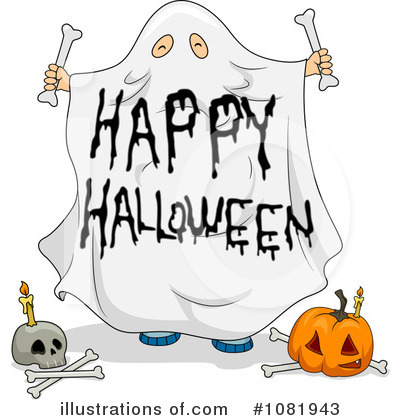 Happy Halloween Clipart #1081943 by BNP Design Studio