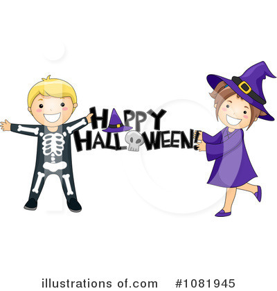 Happy Halloween Clipart #1081945 by BNP Design Studio