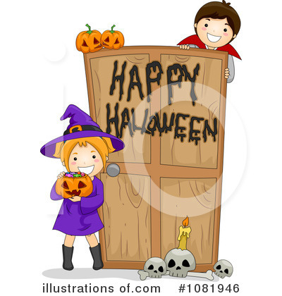 Happy Halloween Clipart #1081946 by BNP Design Studio