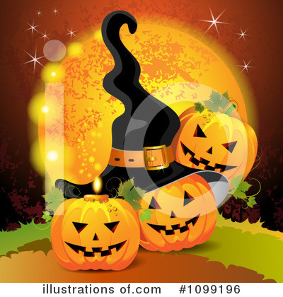 Witch Hat Clipart #1099196 by merlinul