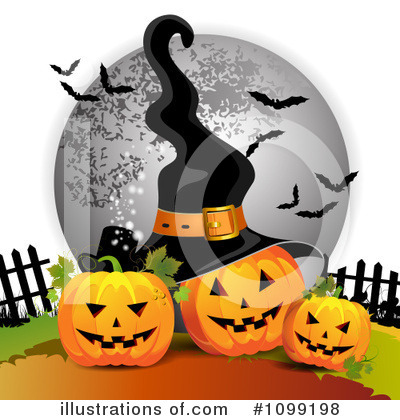 Witch Hat Clipart #1099198 by merlinul