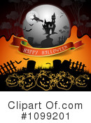 Royalty-Free (RF) Halloween Clipart Illustration #1099201