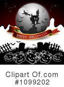 Royalty-Free (RF) Halloween Clipart Illustration #1099202