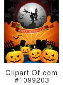 Royalty-Free (RF) Halloween Clipart Illustration #1099203
