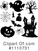 Royalty-Free (RF) Halloween Clipart Illustration #1110731