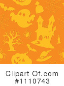 Royalty-Free (RF) Halloween Clipart Illustration #1110743