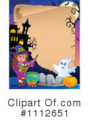 Royalty-Free (RF) Halloween Clipart Illustration #1112651