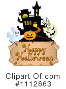 Royalty-Free (RF) Halloween Clipart Illustration #1112663