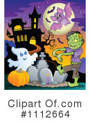 Royalty-Free (RF) Halloween Clipart Illustration #1112664