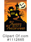 Royalty-Free (RF) Halloween Clipart Illustration #1112665