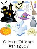 Royalty-Free (RF) Halloween Clipart Illustration #1112667