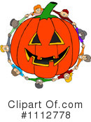 Royalty-Free (RF) Halloween Clipart Illustration #1112778