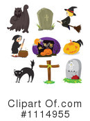 Royalty-Free (RF) Halloween Clipart Illustration #1114955