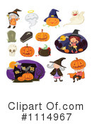 Royalty-Free (RF) Halloween Clipart Illustration #1114967