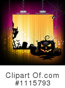 Royalty-Free (RF) Halloween Clipart Illustration #1115793