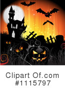 Royalty-Free (RF) Halloween Clipart Illustration #1115797