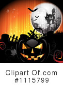 Royalty-Free (RF) Halloween Clipart Illustration #1115799