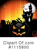 Royalty-Free (RF) Halloween Clipart Illustration #1115800