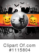 Royalty-Free (RF) Halloween Clipart Illustration #1115804