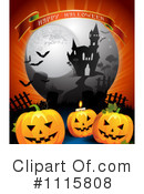 Royalty-Free (RF) Halloween Clipart Illustration #1115808