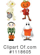 Royalty-Free (RF) Halloween Clipart Illustration #1118605