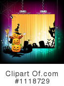 Royalty-Free (RF) Halloween Clipart Illustration #1118729