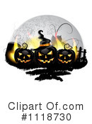Royalty-Free (RF) Halloween Clipart Illustration #1118730