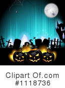 Royalty-Free (RF) Halloween Clipart Illustration #1118736
