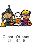 Royalty-Free (RF) Halloween Clipart Illustration #1119446