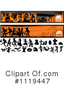 Royalty-Free (RF) Halloween Clipart Illustration #1119447