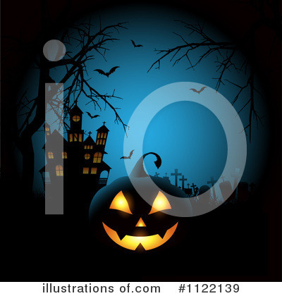 Halloween Pumpkins Clipart #1122139 by KJ Pargeter