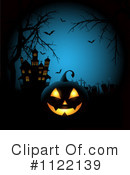Royalty-Free (RF) Halloween Clipart Illustration #1122139