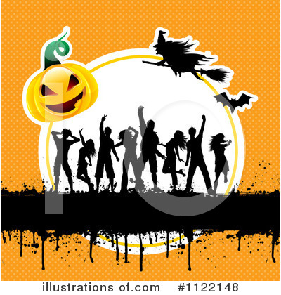 Halloween Pumpkins Clipart #1122148 by KJ Pargeter