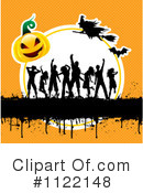 Royalty-Free (RF) Halloween Clipart Illustration #1122148