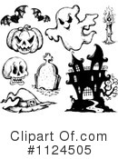 Halloween Clipart #1124505 by visekart