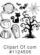 Halloween Clipart #1124506 by visekart