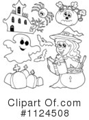Royalty-Free (RF) Halloween Clipart Illustration #1124508
