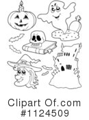 Halloween Clipart #1124509 by visekart