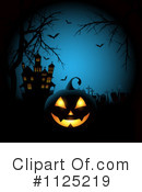 Royalty-Free (RF) Halloween Clipart Illustration #1125219