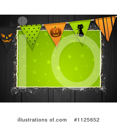 Halloween Party Clipart #1125652 by elaineitalia