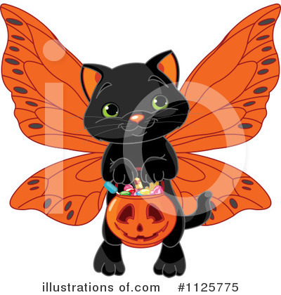 Black Cat Clipart #1125775 by Pushkin