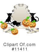Halloween Clipart #11411 by AtStockIllustration