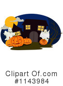 Royalty-Free (RF) Halloween Clipart Illustration #1143984