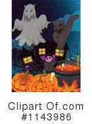 Royalty-Free (RF) Halloween Clipart Illustration #1143986